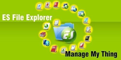 ES file explorer: creare rete LAN fra android e PC