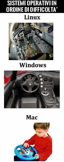 Operating system differences