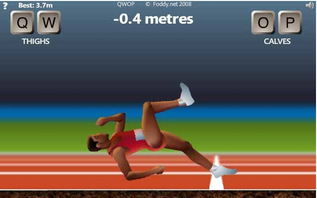 QWOP: A fun game ... but very complicated