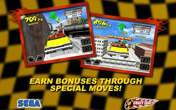 Crazy Taxi for Android becomes free!