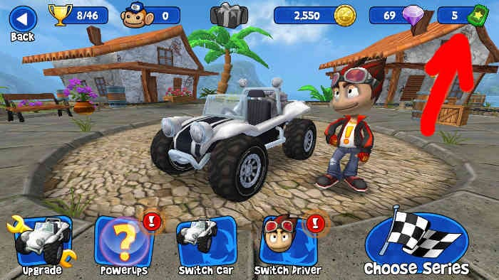 Trucchi Beach Buggy Racing (vite infinite)
