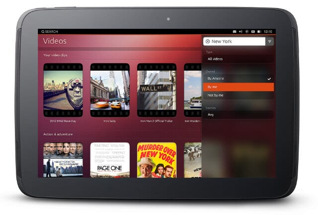 UT One: the first tablet with Ubuntu Touch