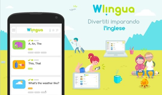 Wlingua - The App to learn English with Android (and not only!) + [Contest] Win 1 month Free of Wlingua