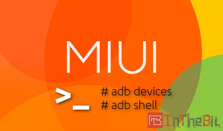 MIUI ADB device not found