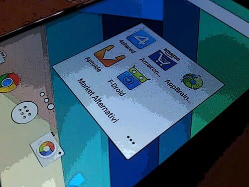 Market Android alternativi: perché usarli?
