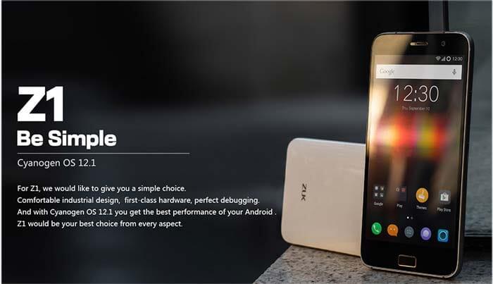 ZUK Z1 in offerta speciale a 150 Euro. 4G, 4100mAh, Snapragon 801, 3GB RAM