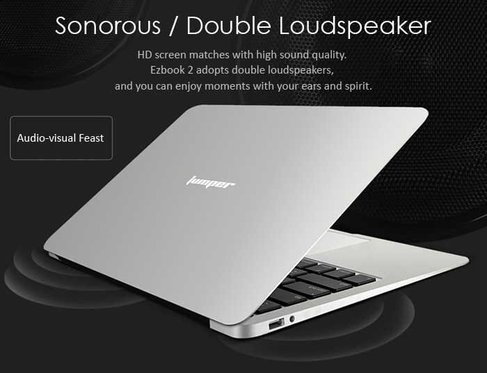 Jumper Ezbook 2, an Ultrabook similar to the MacBook at 146 Euro