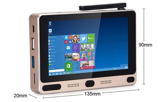 Gole1 Gorges: mini pocket PC with Android, Windows and 4GB of RAM