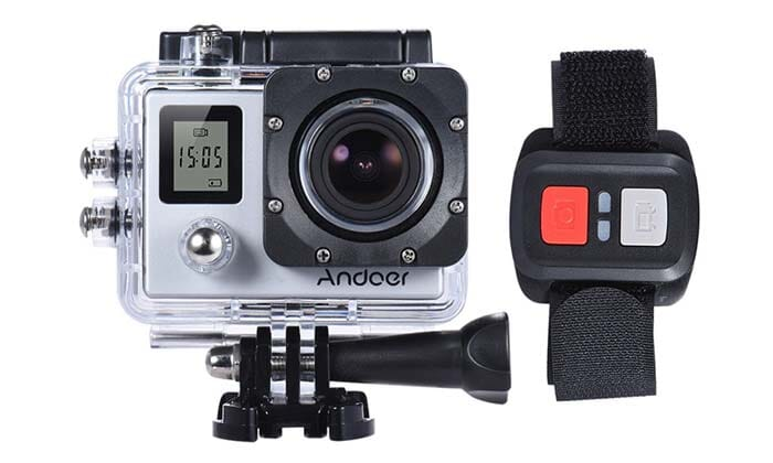 Andoer H8R: Action camera from 16 MP, 4k @30fps to 54 €