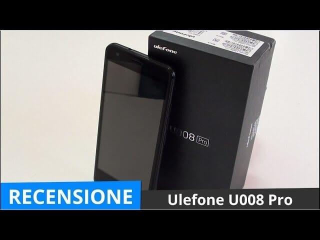 Recensione Ulefone U008 Pro, smartphone 5″ a meno di 80 Euro