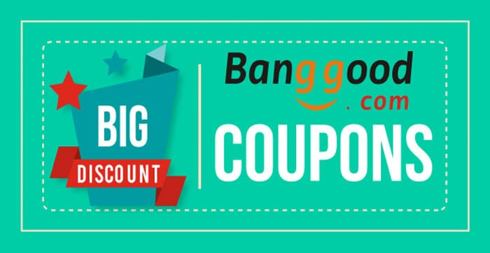 Banggood offers and coupons updated every day