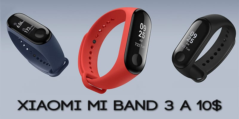 Preview of Gearbest 25 November offers. Xiaomi Mi Band 3 to 10 $!