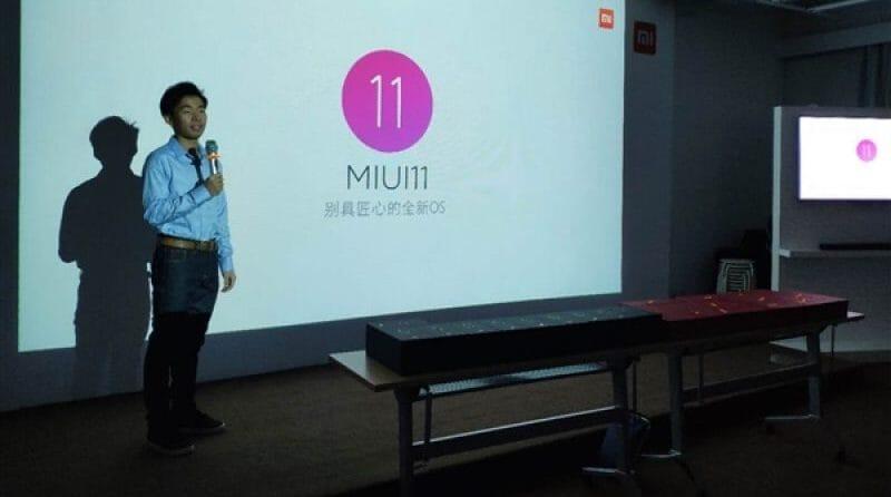 La MIUI 11 è entrata nella fase di sviluppo
