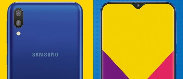 Samsung Galaxy M10 ed M20 caratteristiche e prezzi