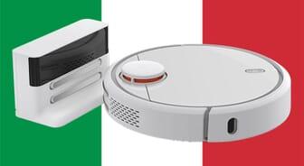 Xiaomi Mi Robot language Italian