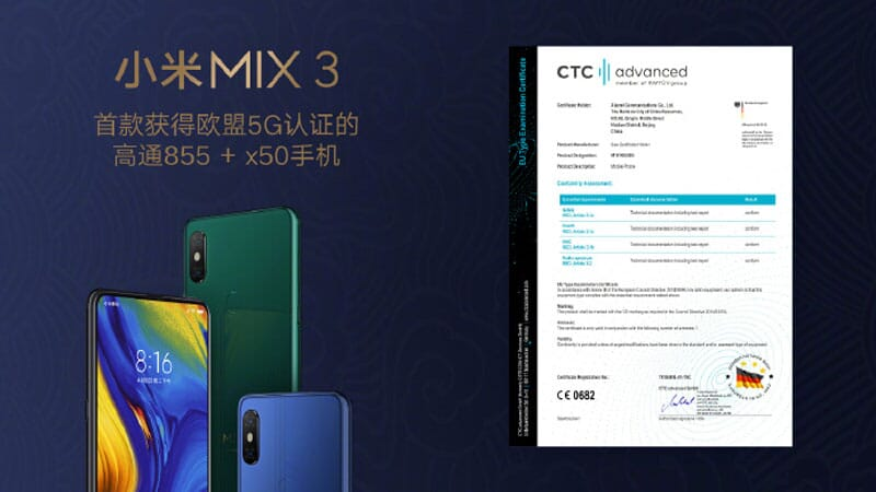 Xiaomi Mi Mix 3 Global 6/128GB in offerta a 433€ con coupon