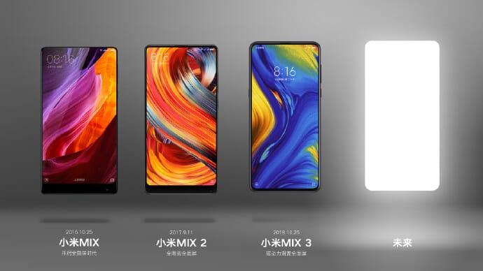 Xiaomi Mi Mix 4: Snapdragon 855+, Fotocamera 108MP e lancio a Settembre