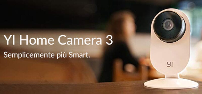 YI Home Camera 3, la nuova videocamera con AI disponibile su Amazon