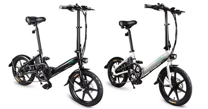 FIIDO D3 Shifting Version bicicletta elettrica cambio Shimano