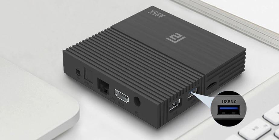 A95X F2 TV Box con Android 9.0 e USB 3.0 in offerta a 40,50€