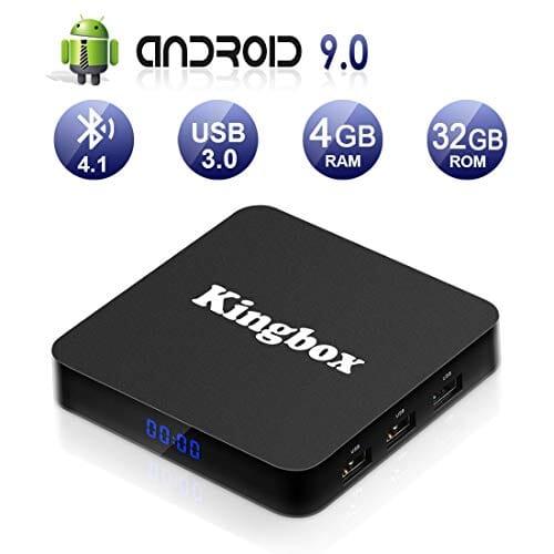 Kingbox K4S TV BOX Android 9.0 scontato 45,99€ con coupon su Amazon