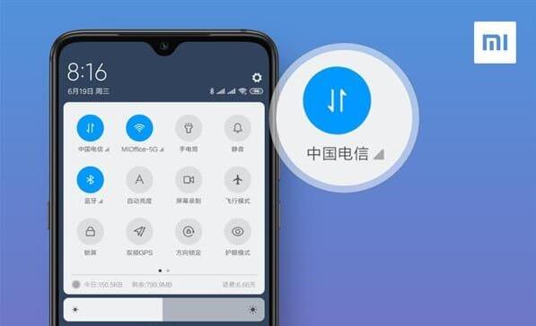 MIUI: Un aggiornamento permetterà lo switch delle SIM dalla barra delle notifiche