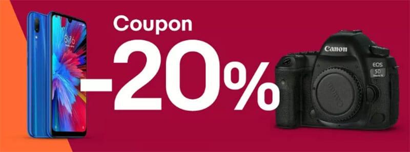 Nuova promo eBay! 20% di sconto fino a 50€ con questo coupon