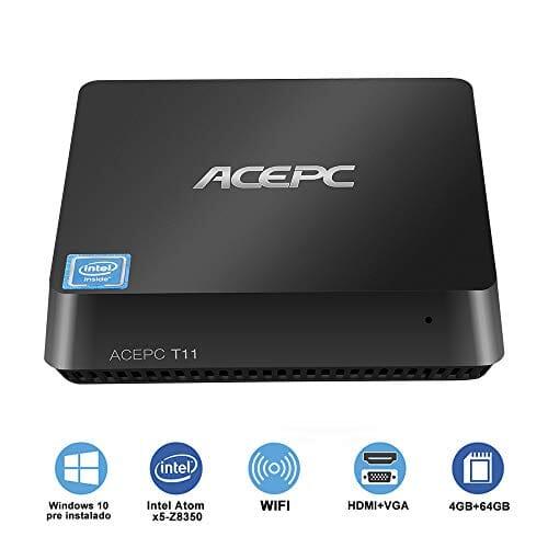 ACEPC Mini PC Intel Cherry Trail in offerta con codice sconto a 119,90€