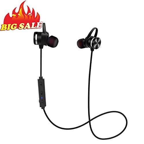 BRAVOLY 4.1 Bluetooth Headphones in Ear on offer at 9,6 € with coupon