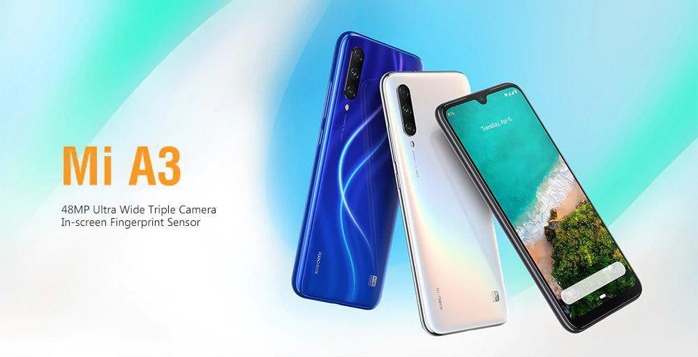 Xiaomi Mi A3 128GB in offerta a 157€ su Gearbest e Banggood con coupon