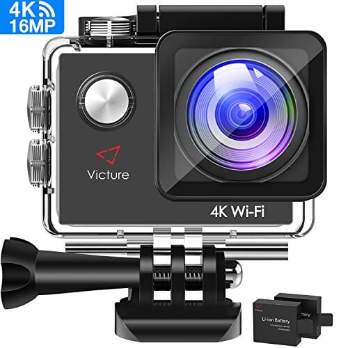 Victure Action Cam 16MP 4K in offerta a 31€ con coupon Amazon