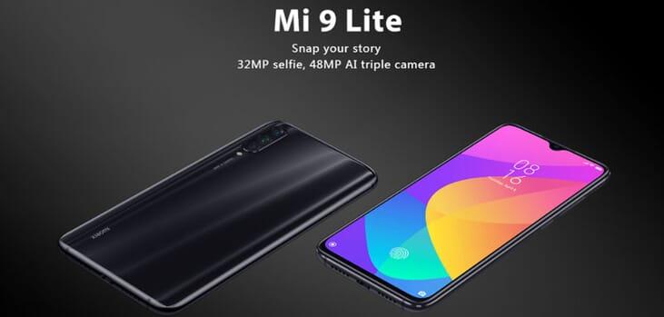 Xiaomi Mi 9 Lite prezzo