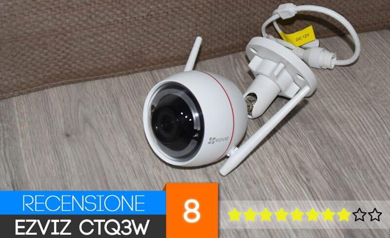 Recensione EZVIZ CTQ3W Telecamera di sicurezza da esterno (720p)
