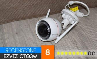 Review Ezviz CTQ3W 720p