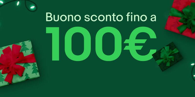 Coupon eBay Novembre: 5% di sconto fino a 100€ su tanti prodotti