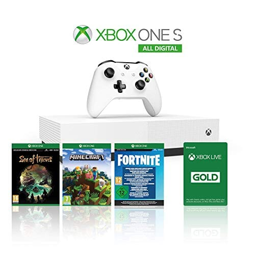 Xbox One S 1TB Digital Edition + controller + 3 giochi da 229€ a 129€ 🔥