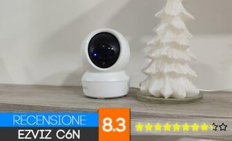 Ezviz C6n Recensione videocamera 1080p