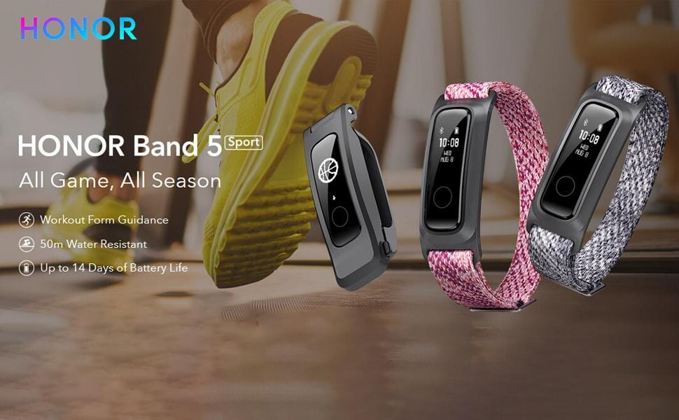 HONOR Band 5 Sport Basketball Version for only € 14,99 on Amazon