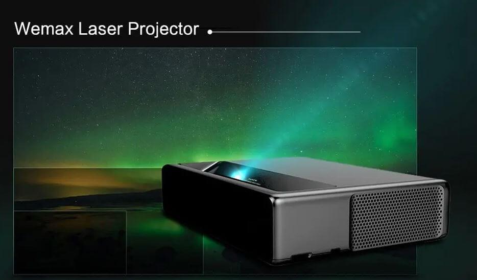 Xiaomi WEMAX ONE Coupon: proiettore laser in sconto spedito da Europa